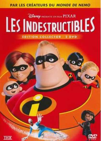 French DVDs - The Incredibles Special
