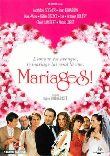 French DVDs - Mariages