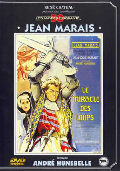 French DVDs - Le Miracle Des Loups