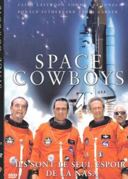 French DVDs - Space Cowboys