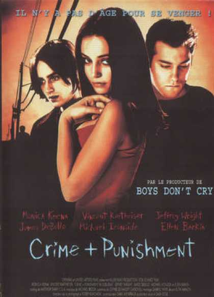 French DVDs - Crime And Punishment InSuburbia 2000