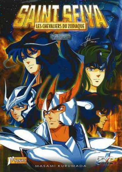 French DVDs - Saint Seiya Volume 02