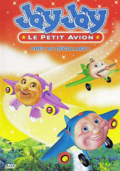 French DVDs - Jay Jay Pret Au Decolage