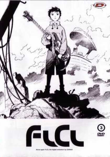 French DVDs - FLCL: Volume 3