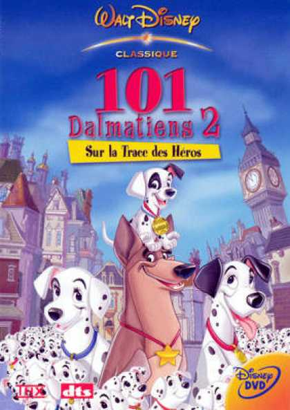 French DVDs - 101 Dalmatiens 2