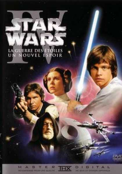 French DVDs - Star Wars Episode 4 A New Hope