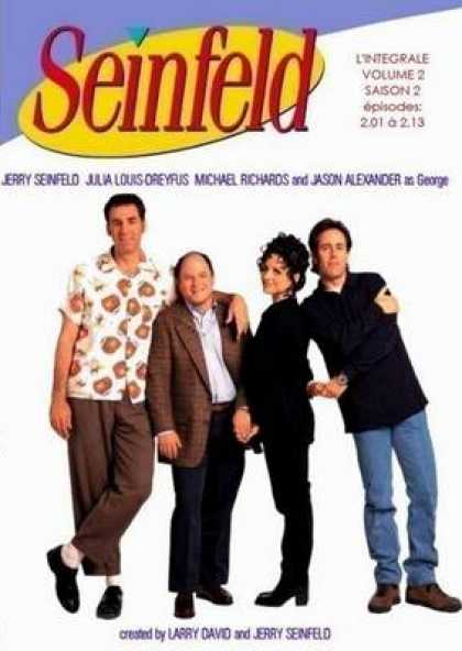 French DVDs - Seinfeld Volume 2