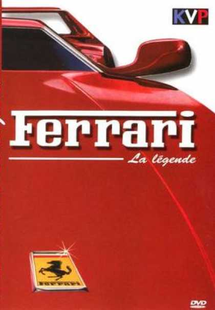 French DVDs - The Legend Of Ferrari