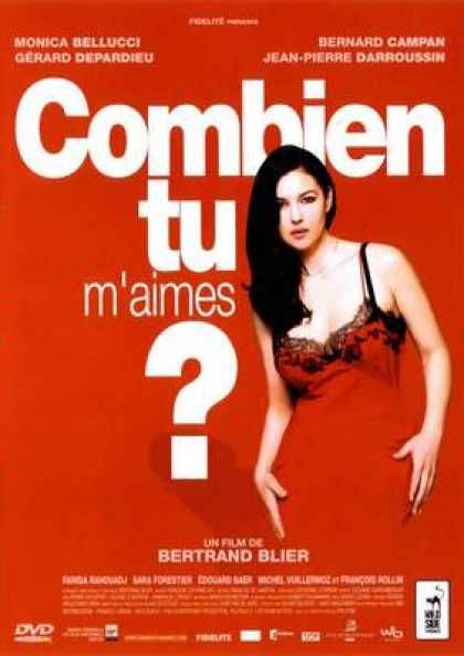 French DVDs - Combien Tu M'aimes? V2
