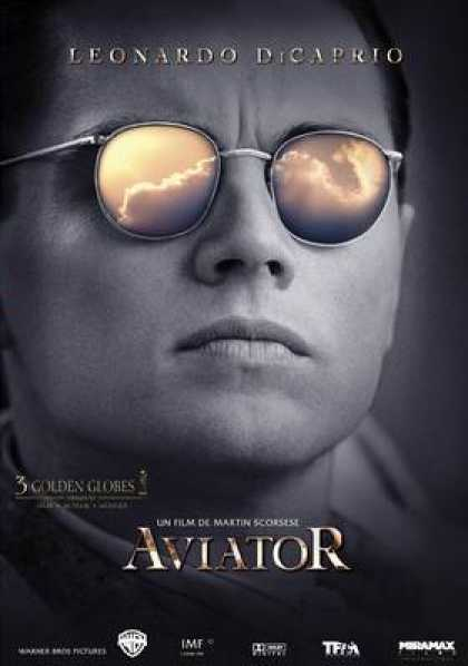 French DVDs - The Aviator