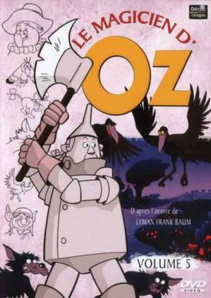 French DVDs - The Wizard Of Oz Cartoon Volume 5