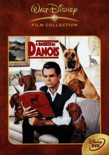 French DVDs - 4 Bassets Pour Un Danois
