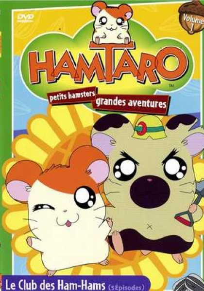 French DVDs - Hamtaro Vol 1