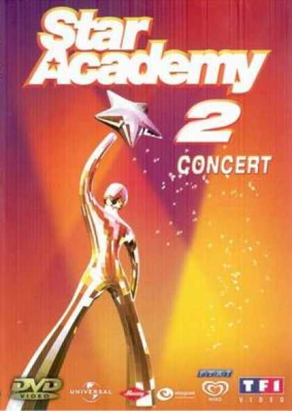 French DVDs - Star Academy 2