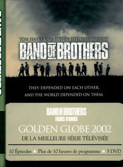 French DVDs - Band Of Brother - Freres D'Armes FRENCH R2 SCAN