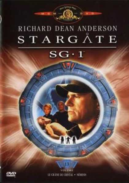 French DVDs - Stargate Sg 1 Vol 13