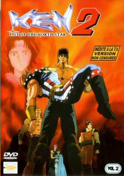 French DVDs - Ken 2 Fist Of The North Star Volume 2