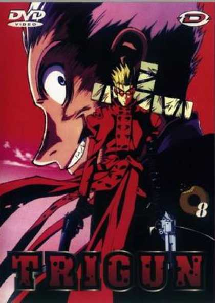 French DVDs - Trigun: Volume 8