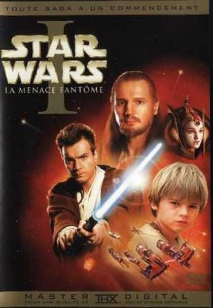 French DVDs - Star Wars Episode I