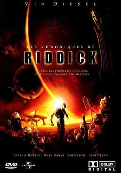 French DVDs - The Chronicles Of Riddick