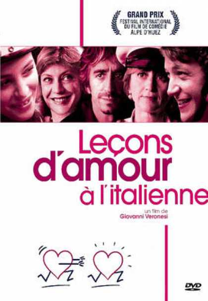 French DVDs - Lecons D'Amour A L'Italienne