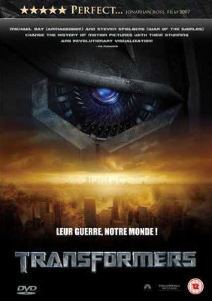 French DVDs - Transformers