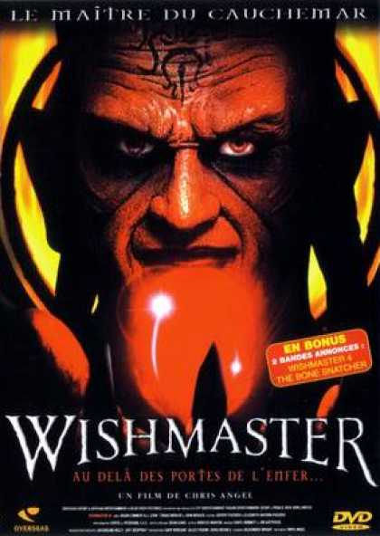 French DVDs - Wishmaster 3