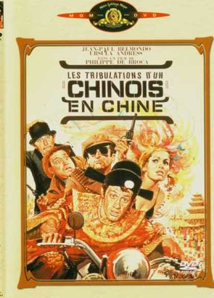 French DVDs - Les Tribulations D Un Chinois En Chine