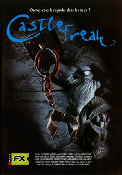 French DVDs - Castle Freak