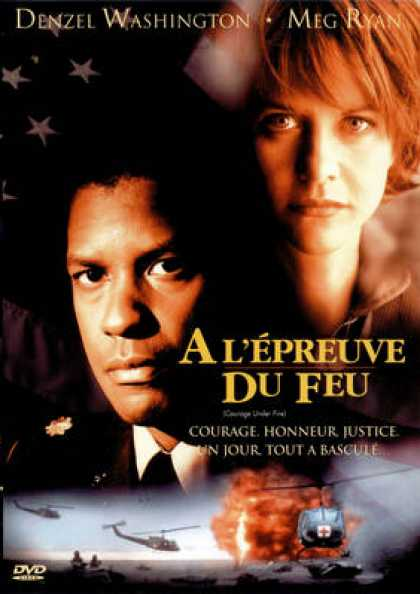 French DVDs - A L Epreuve Du Feu