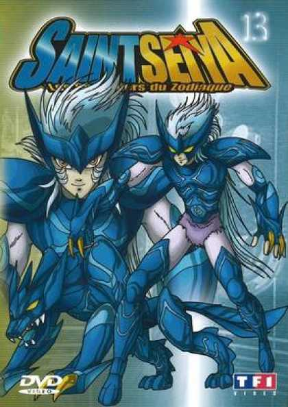 French DVDs - Saint Seiya Volume 13