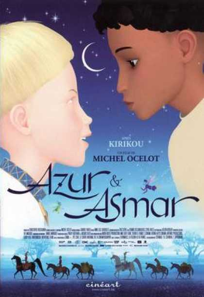French DVDs - Azur Et Asmar