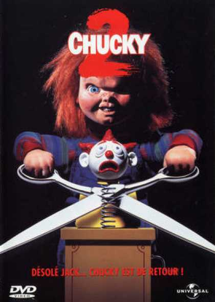 French DVDs - Chucky 2