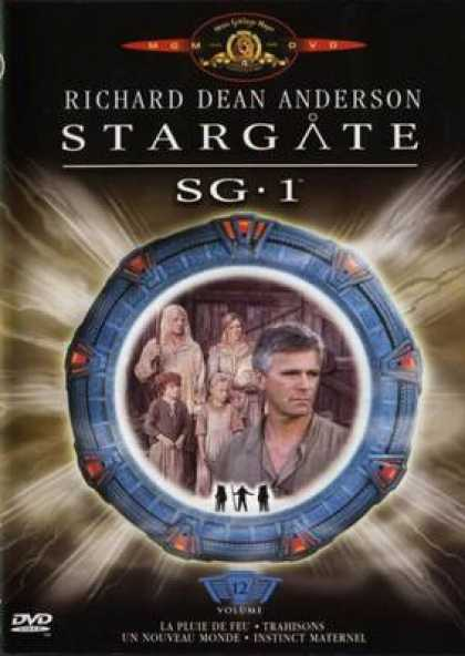 French DVDs - Stargate Sg 1 Vol 12