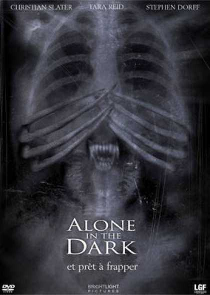 French DVDs - Alone In The Dark