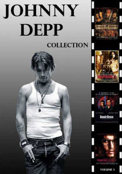 French DVDs - Johnny Depp Collection 1 - 3