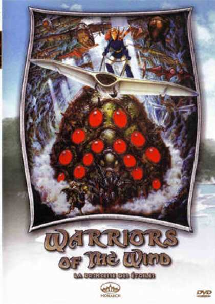 French DVDs - Warriors Of The Wind