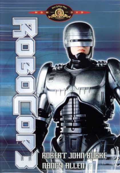 French DVDs - Robocop 3