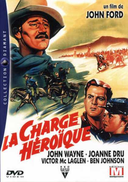 French DVDs - La Charge Heroique