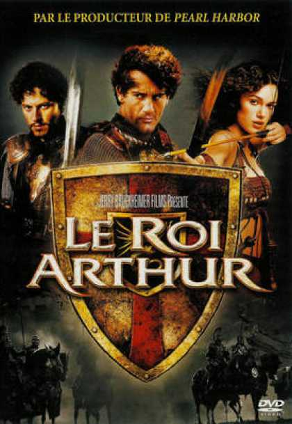 French DVDs - King Arthur