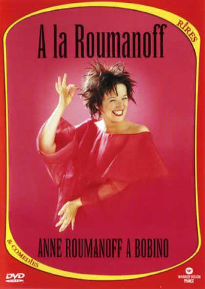 French DVDs - Anne Roumanoff A Bobino