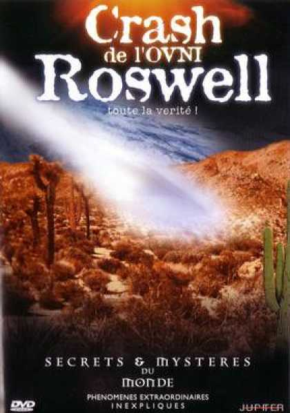 French DVDs - Crash In Roswell