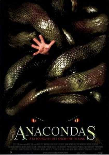 French DVDs - Anacondas The Hunt For The Blood Orchid