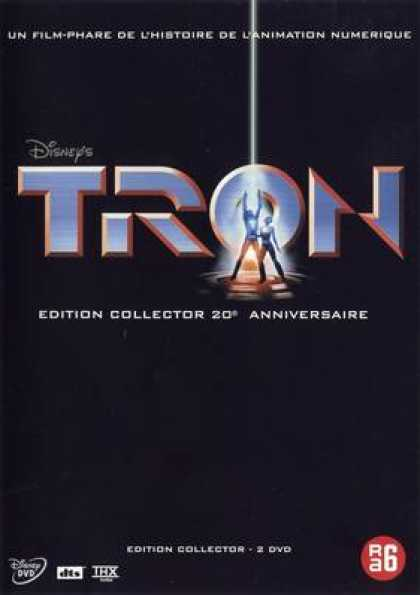 French DVDs - Tron 20th Anniversary
