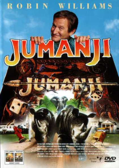 French DVDs - Jumanji