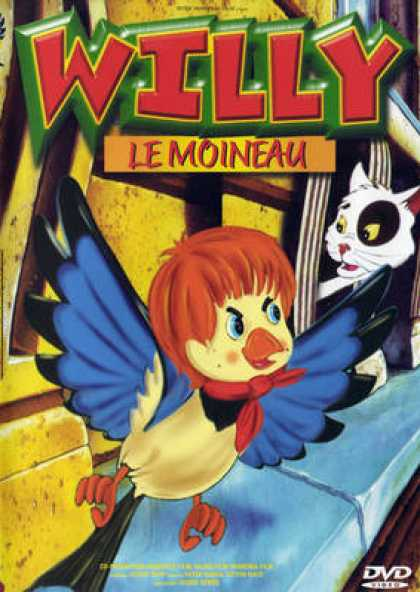 French DVDs - Willy Le Moineau