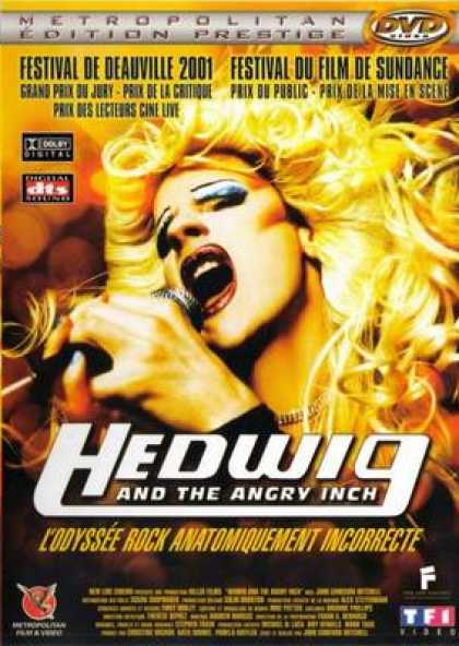 French DVDs - Hedwig And The Angry Inch