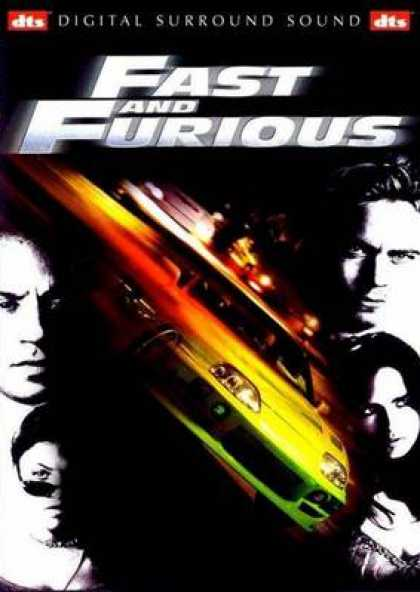 French DVDs - The Fast And Furious