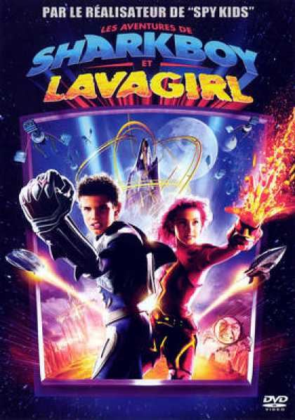 French DVDs - The Adventures Of Sharkboy And Lavagirl