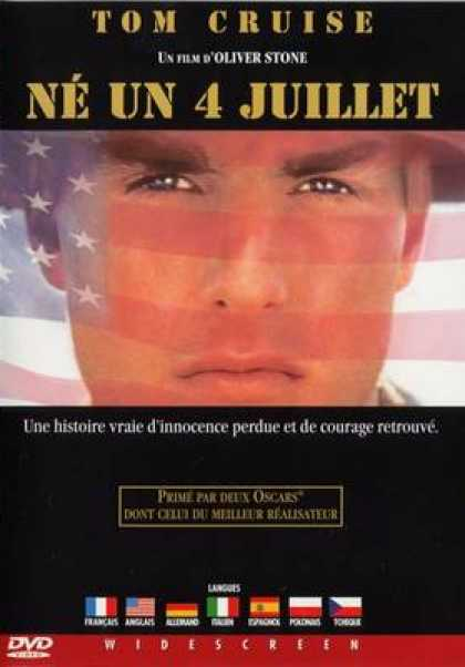 French DVDs - Born On The Fourth Of July